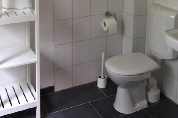 Jagdhaus Hogenbarg, Badezimmer, Schleswig-Holsteinische Landesforsten
