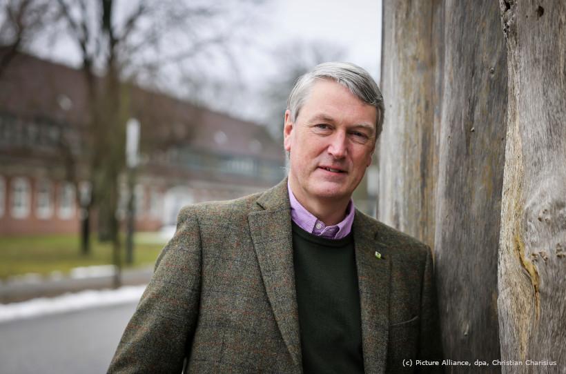 Tim Scherer, Direktor der Schleswig-Holsteinischen Landesforsten.