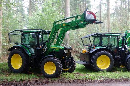 Forsttraktoren