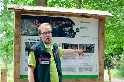 Forst- und Holzinformationspfad