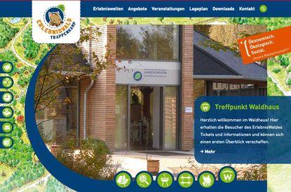 ErlebnisWald Trappenkamp website