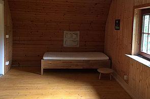 Jagdhaus Hogenbarg, Schlafzimmer, Schleswig-Holsteinische Landesforsten
