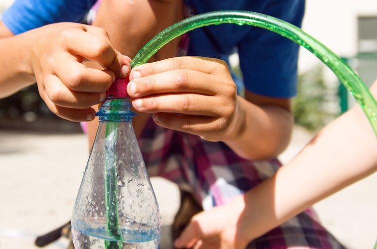 Forschen mit Wasser